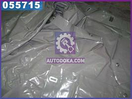 Тент ГАЗ 3302 (старого образца под веревку) (двухслойная ткань, цвет серый)  3302-6002020