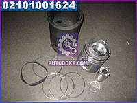 Гильзо-комплект ЕВРО-2 (ГП+Кольца+кольца+уплотнительные кольца) (общая головка ) корот. гильза Поршень Комплект (производство ЯМЗ)