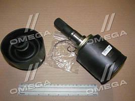 Шарнир /граната/ ВАЗ 2123 внутренний левый 24 шлица (производство  Пекар)  2123-2215057