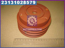 Шкив насоса водяного 3-х ручейковый Д-245 (производство  БЗА)  245-1307166