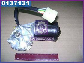Моторедуктор стеклоочистителя КАМАЗ, МАЗ, КРАЗ (24В) (производство  г.Калуга)  16.3730