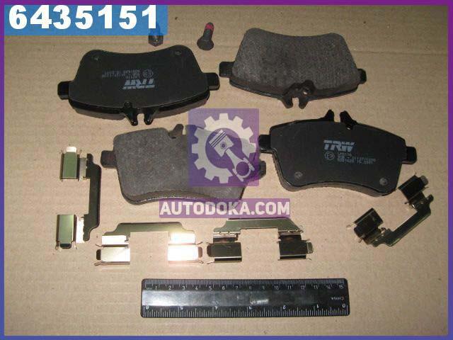 Купить Тормозные колодки, Колодки тормозные Mercedes A-CLASS передние (производство TRW) МЕРСЕДЕС, Б-КЛAСС, GDB1628