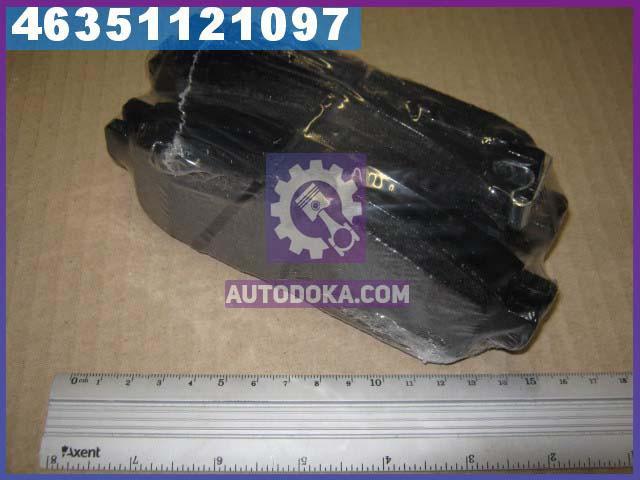 Колодка торм. диск. МИТСУБИШИ L200 передн. (производство  CHAMPION)  572574CH