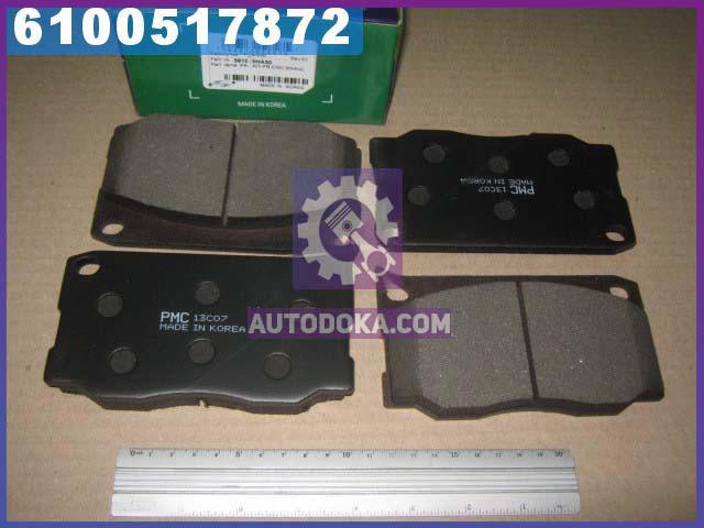 Колодки тормозные дисковые ХЮНДАЙ CHORUS (производство  PARTS-MALL)  PKA-030