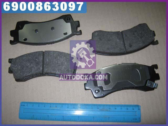 Колодки тормозные МАЗДА 323 F, S передние (производство  REMSA) 323  6, 626  5, ПРЕМAСИ, 0415.12