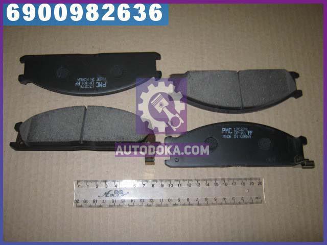Колодки тормозные дисковые НИССАН (производство  PARTS-MALL)  PKW-009