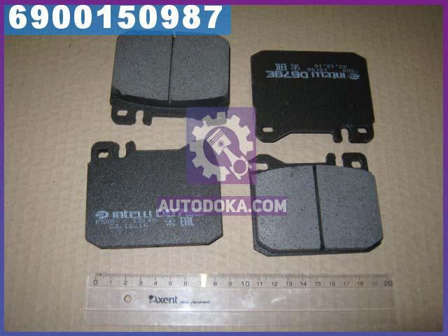 Колодки тормозные Mercedes передние (производство  Intelli)  D679E