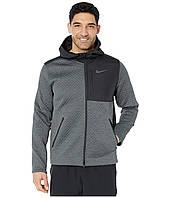 Спортивна куртка Nike Thermasphere Max Jacket Hooded Full Zip Black/Smoke Grey/Heather/Dark Grey - Оригінал