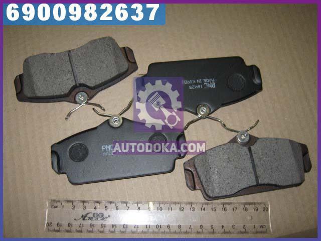 Колодки тормозные дисковые НИССАН (производство  PARTS-MALL)  PKW-014
