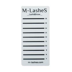 Планшет на 9 лент акриловый M-lashes