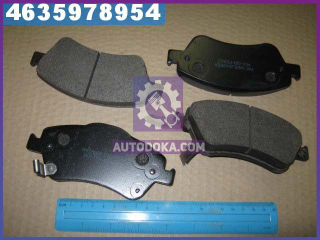 Колодки тормозные ТОЙОТА AURIS 09- передние (производство  PARTS-MALL)  PKF-054