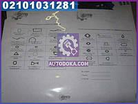 Р/к двигателя ЯМЗ Евро 7511.10, 7512.10, 7513.10, 7514.10 (с общ.головк.) (производство  ЯЗТО)  7511-1000001-01
