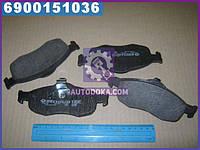 Колодки тормозные ФОРД Mondeo передние (производство  Intelli)  D916E