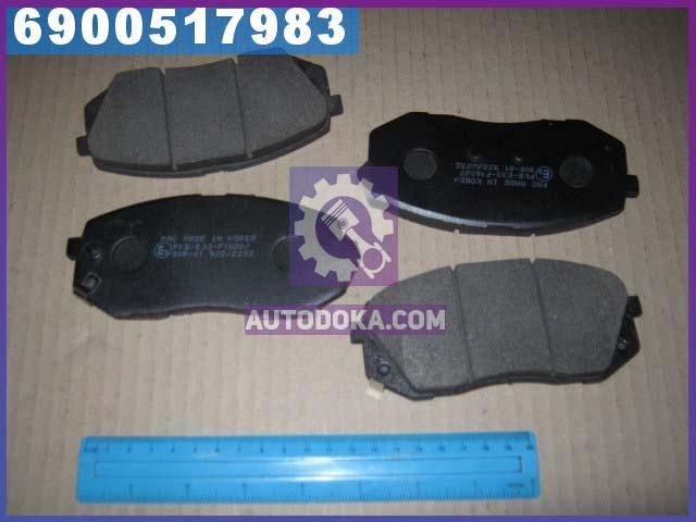 Колодки тормозные дисковые (производство  PARTS-MALL)  PKB-E33