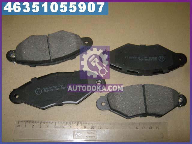 Купить Тормозные колодки, Колодки тормозные СИТРОЕН XSARA, РЕНО KANGOO (KC0/1) передние (производство LPR) 05P662