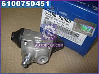 Цилиндр тормозной задний правый Hyundai Elantra 06-/Kia Soul 08- (пр-во Mobis) 583802H000