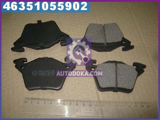 Купить Тормозные колодки, Колодки тормозные Mercedes VITO (638) задние (производство LPR) МЕРСЕДЕС, В-КЛAСС, 05P948