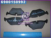 Колодки тормозные БМВ задние (производство  Intelli)  D698E