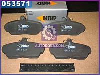 Колодки тормозные ГАЗ 3302 передние (комплект 4шт.) (NRD)  3302-3501170