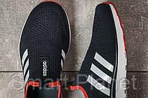 Кроссовки женские 17603, Adidas sport, темно-синие, < 36 37 38 39 40 41 > р. 37-24,0см., фото 3