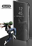 Дзеркальний Smart чохол-книжка Mirror для Xiaomi Mi Note 10 / Mi Note Pro 10 /, фото 9