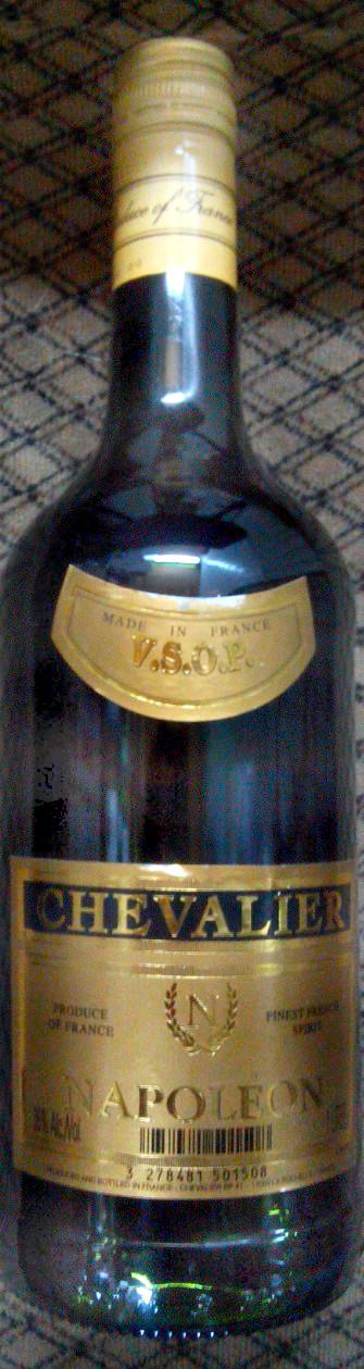 Французский бренди Chevalier Napoleon V.S.O.P. 36% 1л
