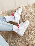 🔥 Кроссовки женские спортивные повседневные Nike Air Force 1 LX, (Найк эир форс белые)), фото 6