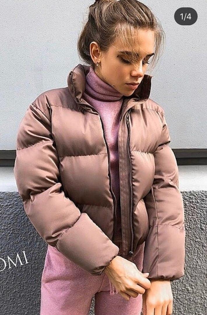 Женская куртка, плащёвка Канада, р-р С-М; М-Л (мокко)