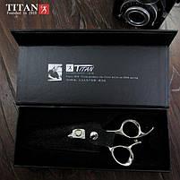 Ножницы Профессиональные Парикмахерские TITAN Эргономичные Нержавеющая Сталь (6 Дюймов) Набор 6 в 1+ Ключ(480), фото 2