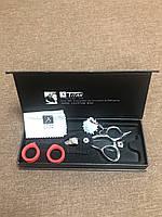 Ножницы Профессиональные Парикмахерские TITAN Эргономичные Нержавеющая Сталь (6 Дюймов) Набор 6 в 1+ Ключ(480), фото 8