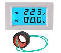 Амперметр Вольтметр D85-2042A, цифровой, AC 80-300 V, 0-100A, фото 1