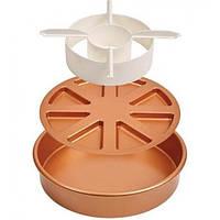 Многофункциональная форма для выпечки Copper Chef Perfect Cake Pan Формы для выпечки в Украине