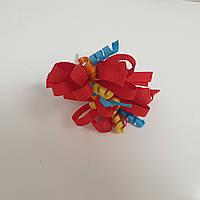 Резинка спиральки красные пара