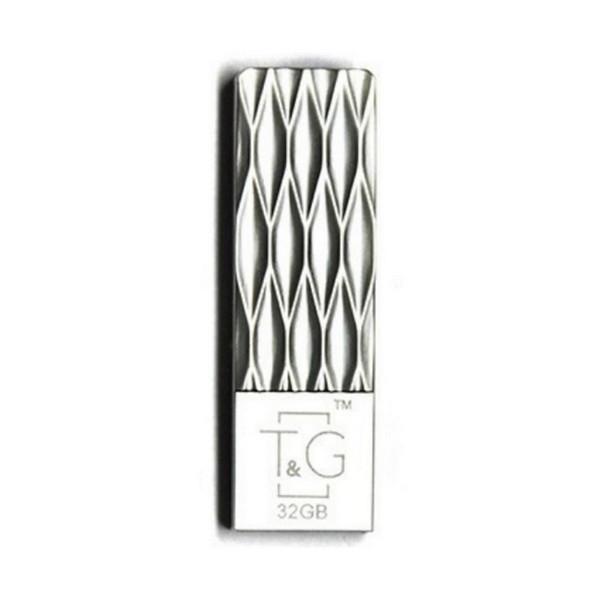 Флеш пам'ять 32 GB T&G 103 Metal Series Silver (TG103-32G)