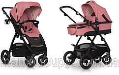 Детская универсальная коляска 2 в 1 EasyGo Optimo Air Rose 2020