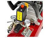 Компрессор 24 л, 2 HP, 1,5 кВт, 220 В, 8 атм, 206 л/мин. INTERTOOL PT-0009, фото 4