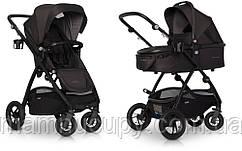 Детская универсальная коляска 2 в 1 EasyGo Optimo Air Basalt 2020