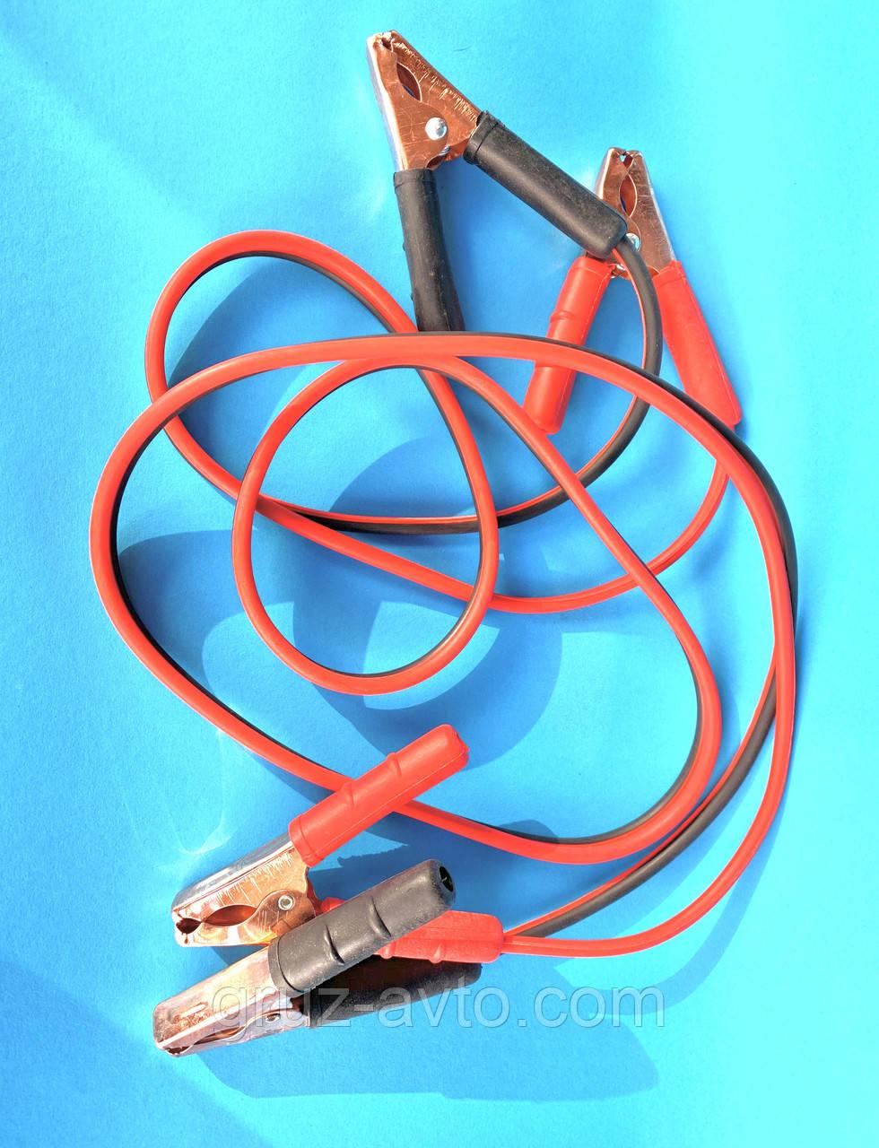Пусковые провода для прикуривания аккумулятора легковых авто ПП-20125-П 100 А 2 м