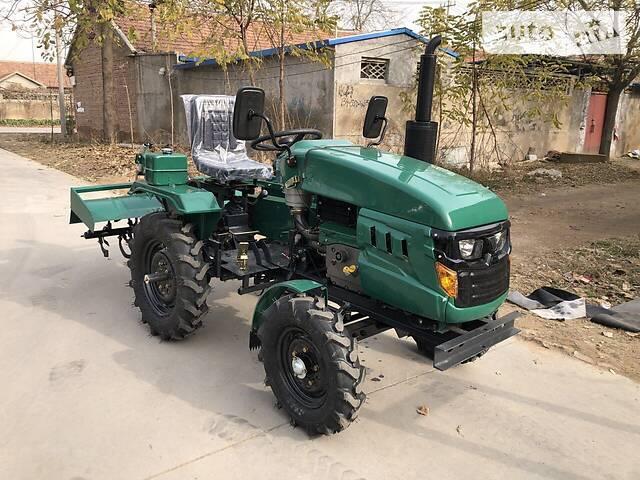 Мототрактор Файтер Т-16 New + почвофреза 130 см и плуг, гидравлика, блокировка колес, регулировка ширины колес