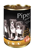 Dolina Noteci Piper junior 400г для  щенков с куриными желудками и коричневым рисом