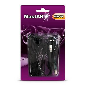 Прямой универсальный шнур от прикуривателя с разъемом 5,5*2,1 MastAK MRS-7E