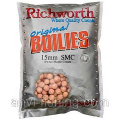 Бойли Richworth SMC Original Boilies - 1 кг діаметр 15 мм