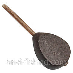 Груз карповый Anvi - In-Line Плоский - 1 шт. Вес 60 грамм