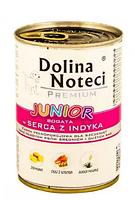 Dolina Noteci Premium Junior 400г  для  щенков с сердцем индейки