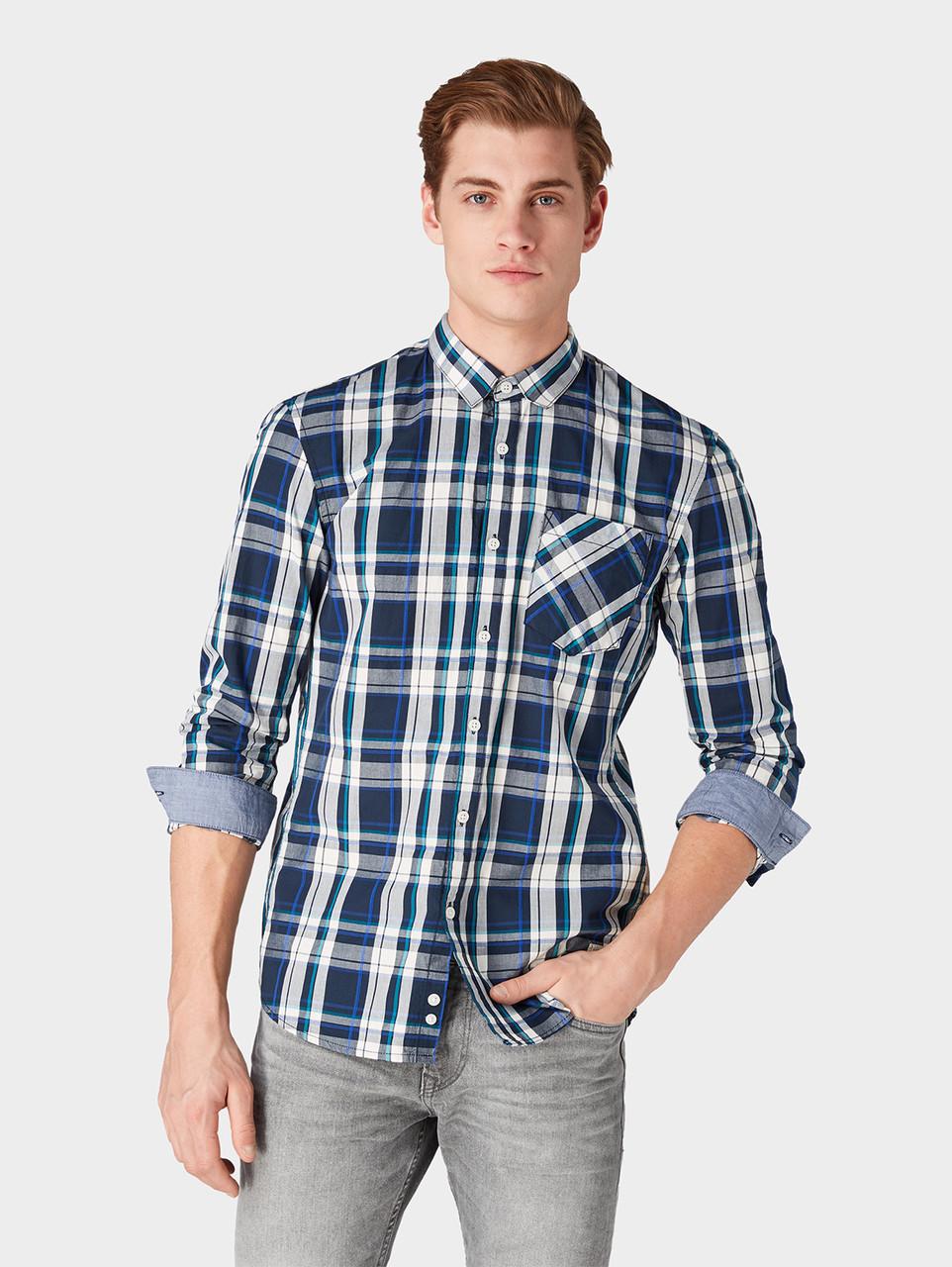 Рубашка Tom Tailor 1009163 XL Синий
