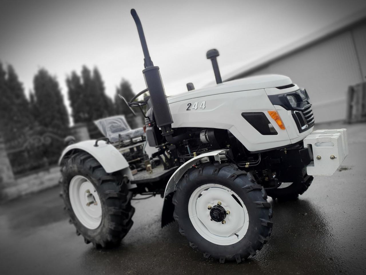 Трактор GS 244 DHX, 3цил, 4х4, гур, ровный пол, широкая колея, широкая резина 11.2-20 Лучше Синтай, Булат, DW