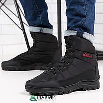 Ботинки мужские высокие чорние -20°C, фото 2