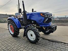 Трактор Orion RD-244dhx, 25лс, 4х4, гидроусилитель, широкие шины, новый дизайн, грузы колес, Орион минитрактор