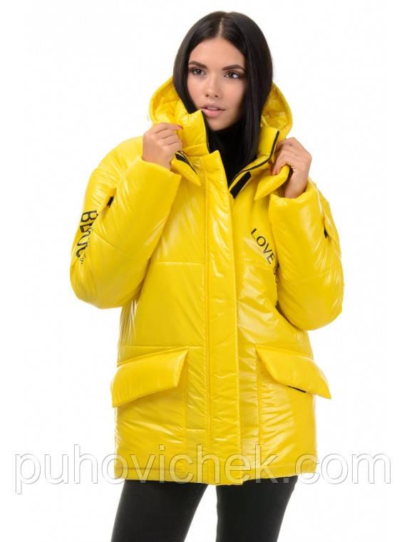 Стильная женская куртка демисезонная размеры 42-48