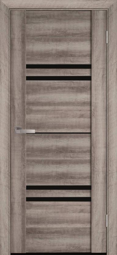 """Двері засклені міжкімнатні новий стиль Віва """"Меріда BLK,G,GRF"""" 60,70,80,90 см баварський бук"""